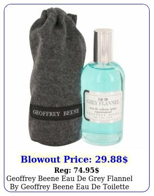 geoffrey beene eau de grey flannel by geoffrey beene eau de toilette spray o