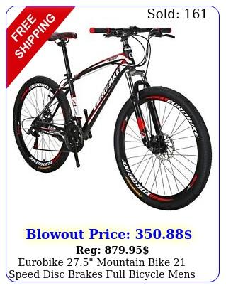 eurobike mountain bike speed disc brakes full bicycle mens mtb bike