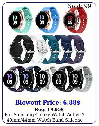 samsung galaxy watch active mmmm watch band silicone sport stra
