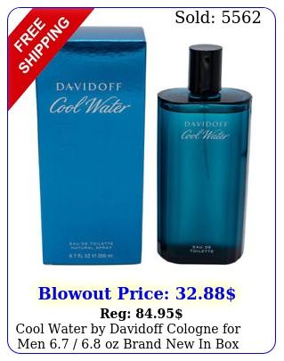 cool water by davidoff cologne men  oz brand i