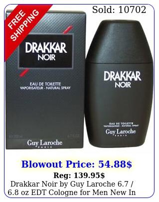 drakkar noir by guy laroche  oz edt cologne men in bo