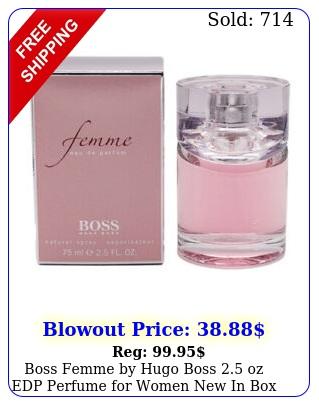boss femme by hugo boss oz edp perfume women i