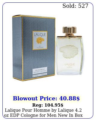 lalique pour homme by lalique oz edp cologne men i