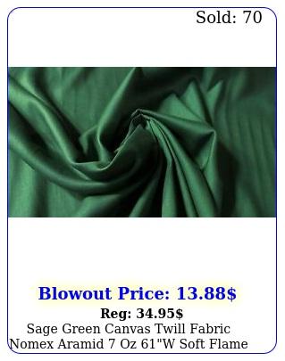 sage green canvas twill fabric nomex aramid oz w soft flame retardant f