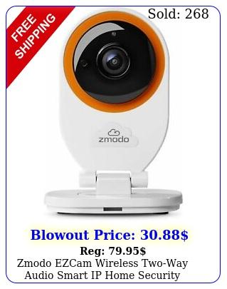 zmodo ezcam wireless twoway audio smart ip home security camera works w alex
