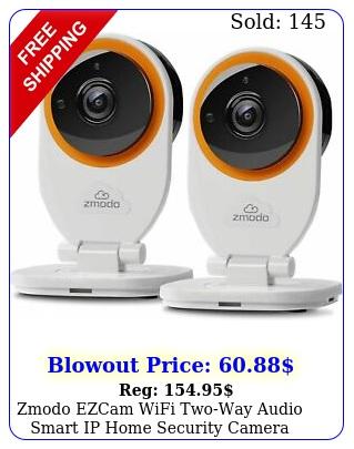 zmodo ezcam wifi twoway audio smart ip home security camera works walexa pac