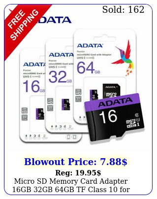 micro sd memory card adapter gb gb gb tf class smartphones tablet