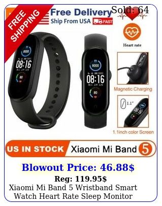 xiaomi mi band wristband smart watch heart rate sleep monitor global versio