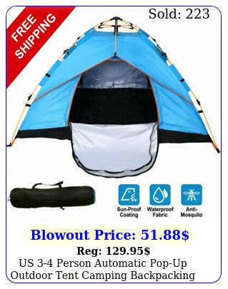 us person automatic popup outdoor tent camping backpacking tents waterproo