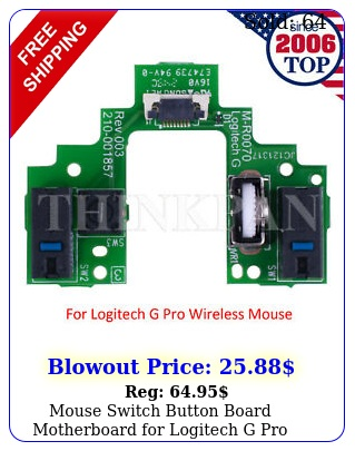 mouse switch button board motherboard logitech g pro wireless gaming mous