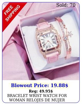 bracelet wrist watch woman relojes de muje