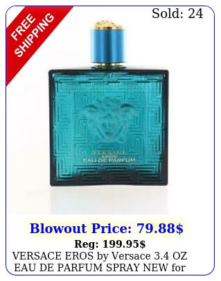 versace eros by versace oz eau de parfum spray me
