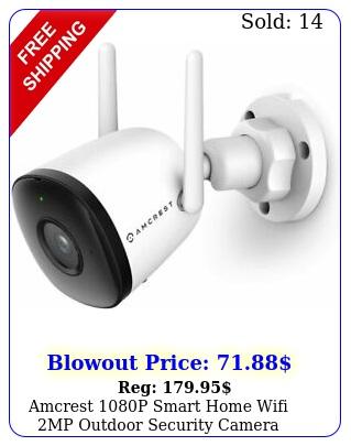 amcrest p smart home wifi mp outdoor security camera wireless system w mi