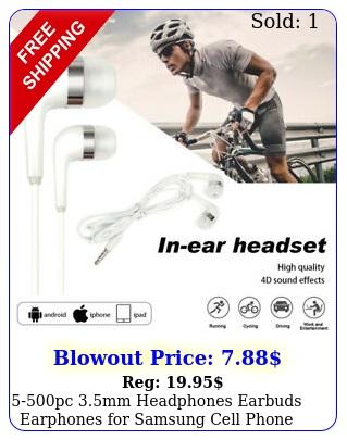 pc mm headphones earbuds earphones samsung cell phone lg w mic lo