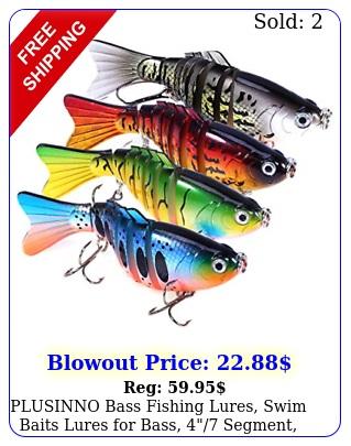 plusinno bass fishing lures swim baits lures bass segment multi bas