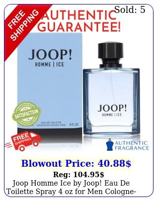 joop homme ice by joop eau de toilette spray oz men cologne get no