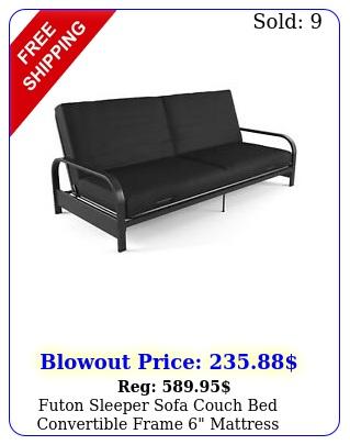 futon sleeper sofa couch bed convertible frame mattress loveseat full siz