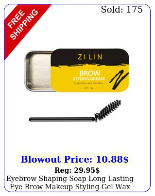 eyebrow shaping soap long lasting eye brow makeup styling gel wax with brus