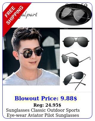 sunglasses classic outdoor sports eyewear aviator pilot sunglasses polarize