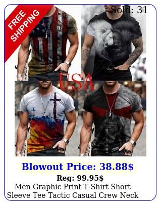 men tshirt usa flag print tactical sport tee workout t shirt fitness sportswea