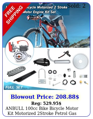 anbull cc bike bicycle motor kit motorized stroke petrol gas engine set u