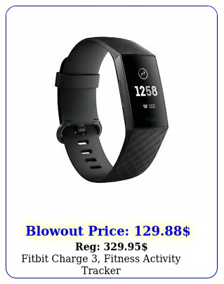 fitbit charge fitness activity tracke