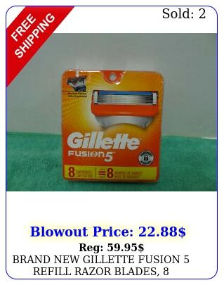 brand gillette fusion refill razor blades cartridge