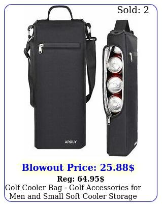 golf cooler bag golf accessories men small soft cooler storage bag