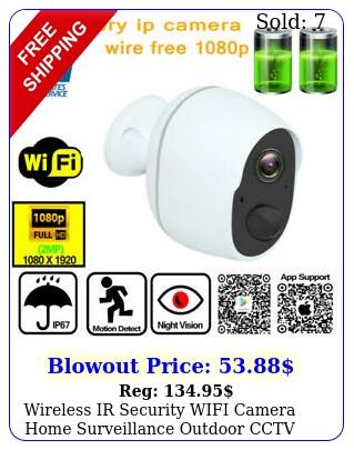 wireless ir security wifi camera home surveillance outdoor cctv hd smart camer