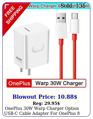 oneplus w warp charger option usbc cable adapter oneplus pro t pr