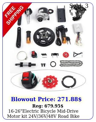 electric bicycle middrive motor kit vvv road bike conversion ki