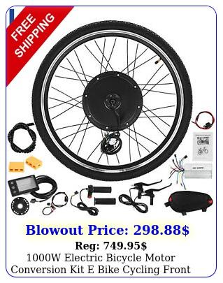 w electric bicycle motor conversion kit e bike cycling front wheel lcd mete