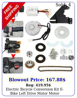 electric bicycle conversion kit ebike left drive motor motor controller