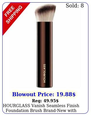hourglass vanish seamless finish foundation brush brandnew with bo