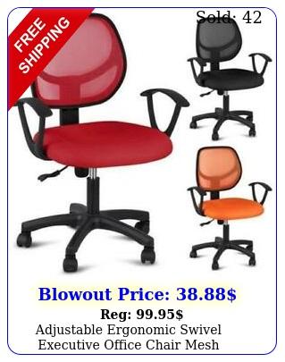 adjustable ergonomic swivel executive office chair mesh computer desk task chai