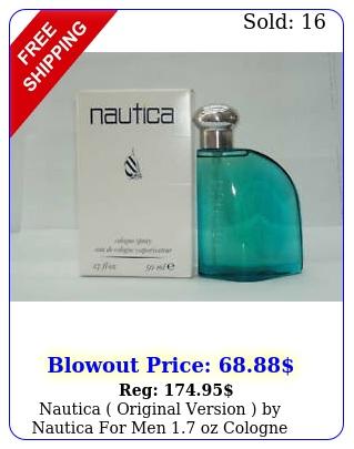 nautica original version by nautica men oz cologne spray rar