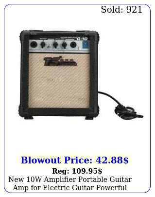 w amplifier portable guitar amp electric guitar powerful soun