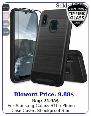 samsung galaxy ae phone case cover shockproof slim brushed armor rubbe