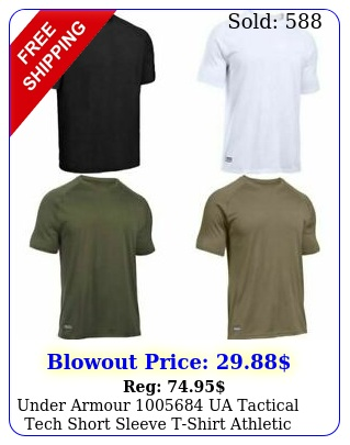 under armour ua tactical tech short sleeve tshirt athletic training te