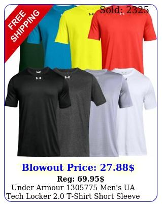 under armour men's ua tech locker tshirt short sleeve athletic te