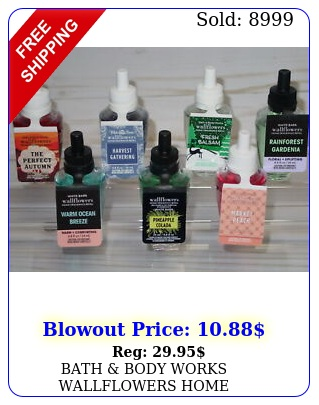 bath body works wallflowers home fragrance refill single you choose scen