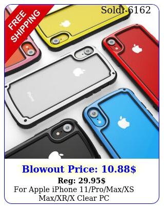 apple iphone promaxxs maxxrx clearpc tpubumpercase tempered glas