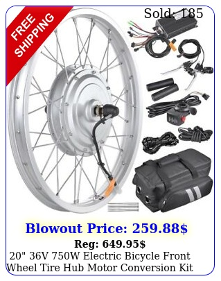 v w electric bicycle front wheel tire hub motor conversion kit ebik