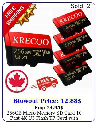 gb micro memory sd card fast k u flash tf card with adapter free lo