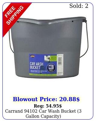 carrand car wash bucket gallon capacit