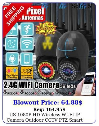 us p hd wireless wifi ip camera outdoor cctv ptz smart home security ir ca