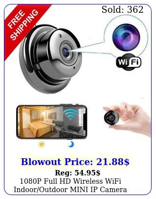 p full hd wireless wifi indooroutdoor mini ip camera cam home security i