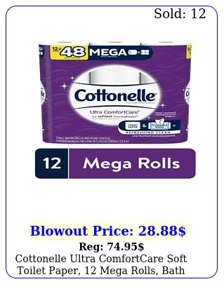 cottonelle ultra comfortcare soft toilet paper mega rolls bath tissu