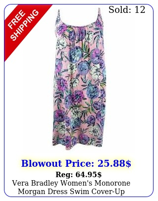 vera bradley women's monorone morgan dress swim coveru