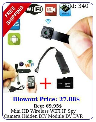 mini hd wireless wifi ip spy camera hidden diy module dv dvr nanny micro cam fh